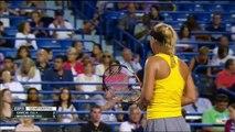 Caroline Wozniacki vs Caroline Garcia NEW HAVEN 2015 QF