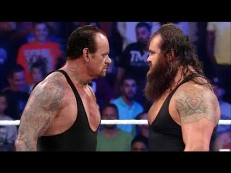 The Undertaker vs Braun Strowman - Iron Man Match - WWE Hell in a Cell 2015