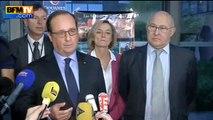 """Hollande """"félicite"""" les agents douanes après une saisie record à Paris"""