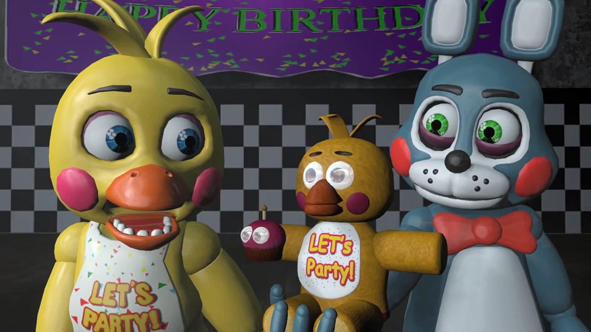 Five Nights At Freddy's Bonnie Animated sfm fnaf: toy bonnie x toy chica (five nights at freddys animation)