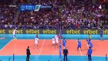 La balle de match de Ngapeth qui offre l'Euro de volley-ball aux Bleus