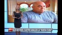 Alex, hijo de Fidel Castro: Los cambios son lentos