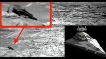 """Captan nave espacial en Marte, parecido a las de """"Star Wars"""""""