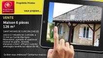 A vendre - Maison en pierres - Saint Meard De Gurcon (24610) - 6 pièces - 126m²