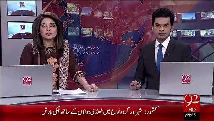 Islamabad Metro Bus Dunia Ka Mahnga Tareen Mansoba – 19 Oct 15 - 92 News HD