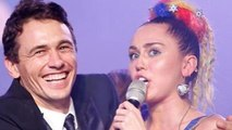Miley Cyrus Wears A Racy Leotard to James Franco's Bar Mitzvah