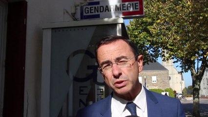 ZAD : Bruno RETAILLEAU apporte son soutien aux Gendarmes de Sautron