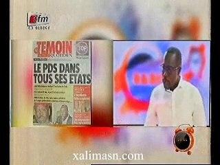 revue de presse de mouhamed ndiaye - 19 oct 2015