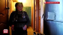 Многоквартирные дома отапливают буржуйками. Это Россия. Зато хохлы зимой замерзнут))