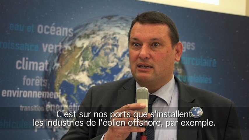 J - 26 avant la COP21 : l'Union des ports de France s'engage!
