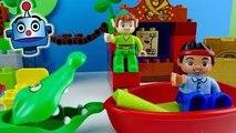 Peter Pan Jake y los Piratas LEGO La visita de Peter Pan Jake Peter Pan's visit - Juguet