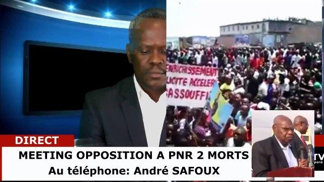 LIVE Meeting de Pointe-Noire  réactions de M SAFOUX ANDRE ET KTK