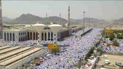 Millones de musulmanes completan en el monte Arafat un ritual clave en su peregrinaje a La Meca