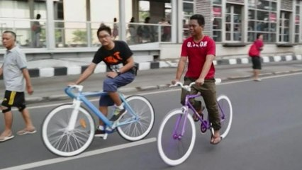 Domingos sin coches en la ciudad de Yakarta