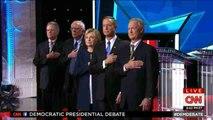 Clinton dominates Democratic presidential debate but Sanders shines too