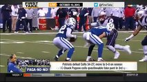 ESPN First Take Today (10 19 2015) - Colts coach takes blame for fake punt failure
