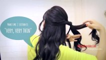 ★HAIR TUTORIAL- BRAID HAIRSTYLES FOR MEDIUM LONG HAIR - BRAIDED SCRUNCHED-UP, CURLY UPDOS