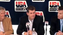 Video of USA Basketball announcing Geno Auriemma Named 2009-12 Womens National Team Head