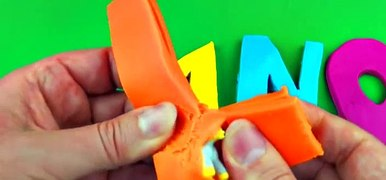 Play Doh Learn the Alphabet Surprise Eggs Sesame Street Toy