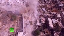 Des militaires syriens ont lancé une offensive dans la partie Est de Damas