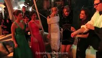 Taylor dancing at the Golden Globes After Party