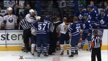 Buffalo Sabres vs Toronto Maple Leafs Brawl Sep 22, 2013