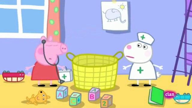 Peppa Pig y suzy sheep Juegan a Medicos y Enfermeras