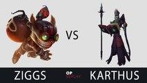 [Highlights] Ziggs vs Karthus - Bischu NA LOL SoloQ