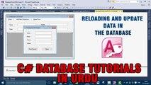 P(4) C# Access Database Tutorials In Urdu - Reloading And Updating Data