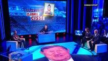 Djibril Cissé, en larmes, annonce sa retraite en Direct
