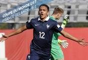 Coupe du Monde U17 : France-Nouvelle Zelande (6-1), le résumé