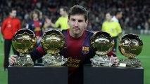Les cinq footballeurs les plus titrés au Ballon d'Or