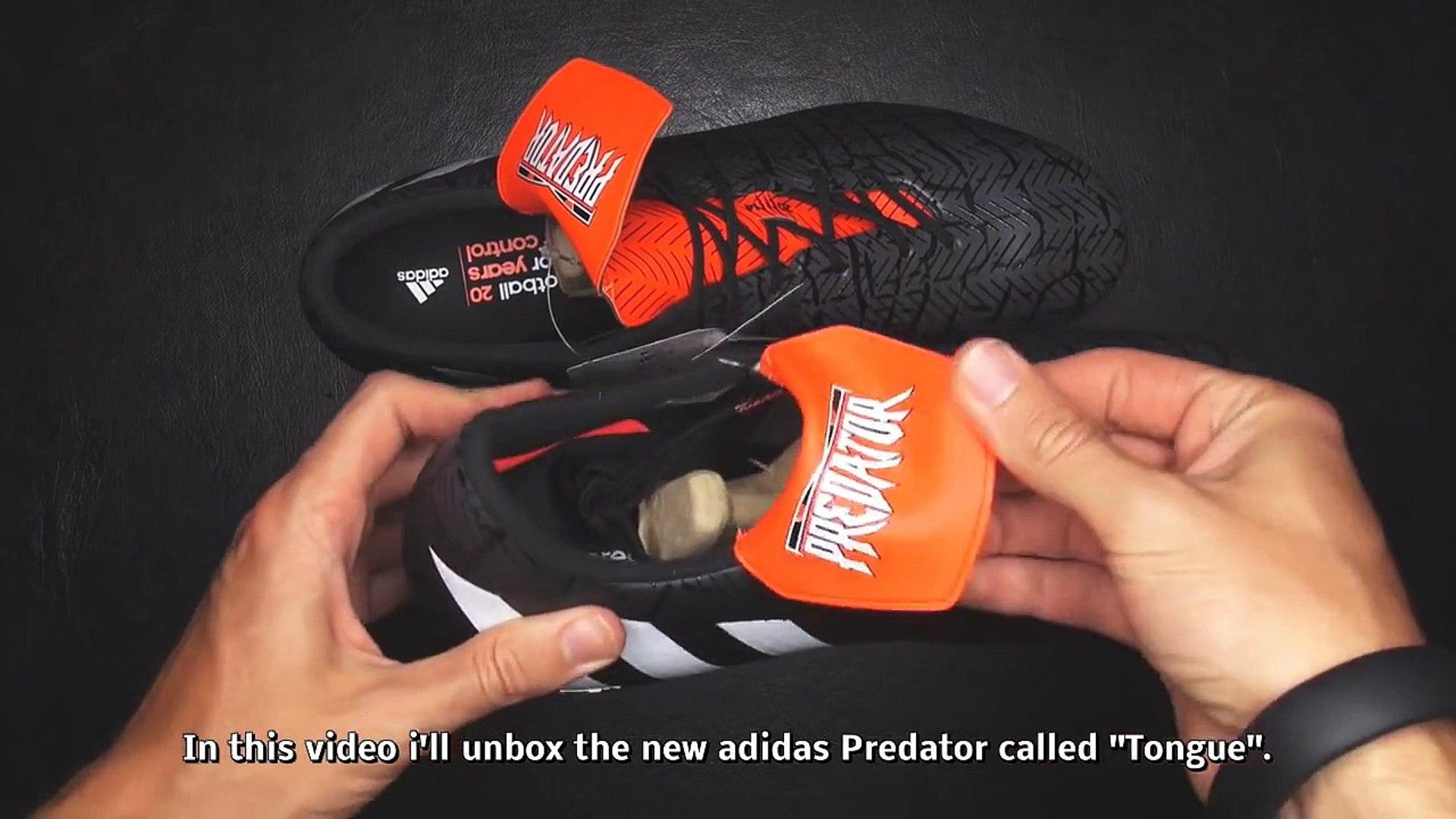 Luvas adidas Predator Pro Hybrid PC Black Active red Loja.