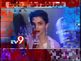 "Deepika Padukone : 'Deewani Mastani' Song is ""Nasheela""-TV9"