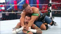 The Rock saves John Cena and gets attacked by CM Punk at 1000th Episode of RAW