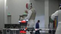 CdM fleuret hommes San Jose 2015 : Finale France vs Japon