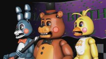 Five Nights at Freddys Animation Song: Tribute Music Video [SFM FNAF]