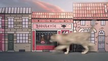 Des chatons dans une ville miniature pour la sortie du nouvel album du Chat de Geluck !