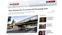 Mother In Germany Pushes 11-Year-Old Son Into Path Of Approaching Train