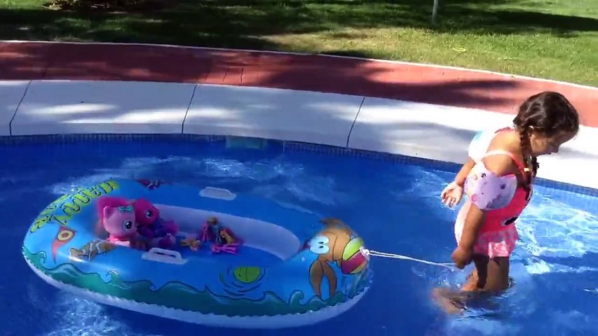 mlp pool party splash with my little pony toys
