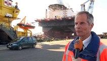 Andre Bruijn van Groningen Seaports Havenmeester van het Jaar - RTV Noord