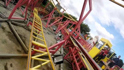Kiddi Koasta front seat on-ride HD POV Adventure Island