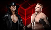 The Undertaker and Brock Lesnar Out Of Control | WWE Raw, Wrestling 2015