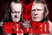 WWE RAW | Brock Lesnar confronts The Undertaker before Hell in a Cell | WWE October 2015