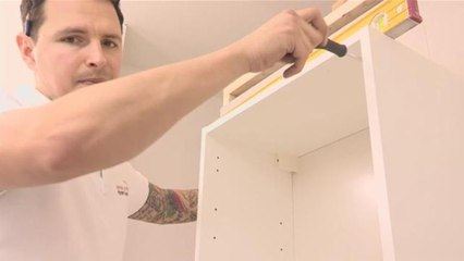 How To Install A Wall Unit In Your Kitchen