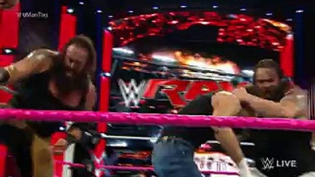 WWE RAW 2015 | Randy Orton & Dean Ambrose & Roman Reigns VS