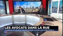 Le bâtonnier de Paris Pierre-Olivier Sur sur LCI pour évoquer la grève des avocats