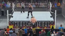 WWE Hell In A Cell 2015 - Undertaker Vs Brock Lesnar (Hell In A Cell) Match HD