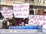 Lahore:  Citizens protest against Orange Line train project