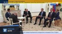 Bachar el-Assad a rencontré Vladimir Poutine à Moscou